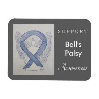 Bell's Palsy Awareness Ribbon Angel Custom Magnet