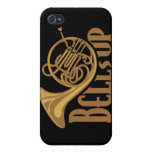 Bells Up French Horn Covers For iPhone 4
