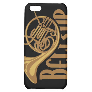 Bells Up French Horn Case For iPhone 5C