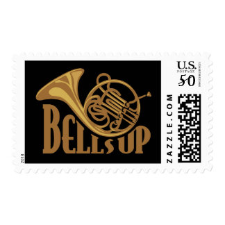 Bells Up Horn Postage