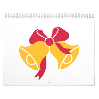 Bells with bow calendars