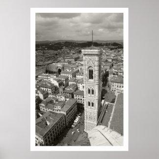 Belltower de Giotto Impresiones