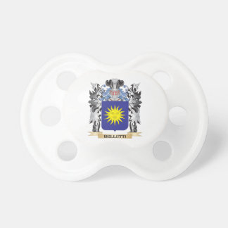 Bellutti Coat of Arms - Family Crest BooginHead Pacifier