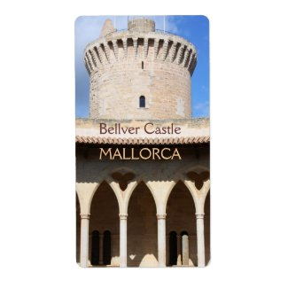 Bellver castle top label