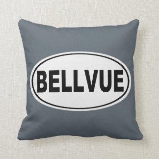 Bellvue Colorado Throw Pillow