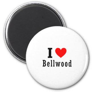 Bellwood, diseño de la ciudad de Alabama Imán Redondo 5 Cm