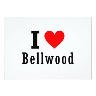 """Bellwood, diseño de la ciudad de Alabama Invitación 5"""" X 7"""""""