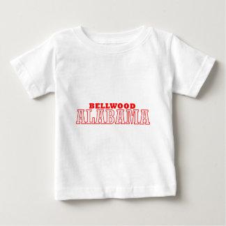 Bellwood, diseño de la ciudad de Alabama Playera De Bebé