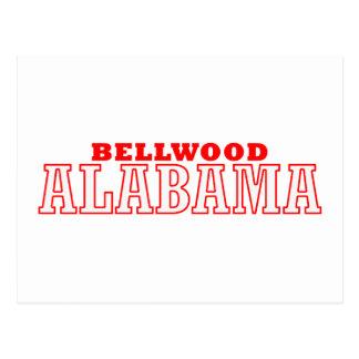 Bellwood, diseño de la ciudad de Alabama Postal