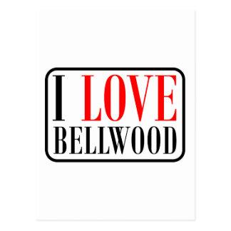 Bellwood, diseño de la ciudad de Alabama Postales