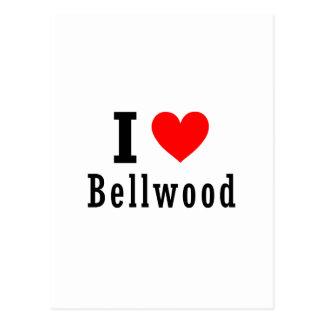 Bellwood, diseño de la ciudad de Alabama Tarjetas Postales