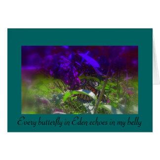 Belly Butterflies Card