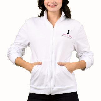 Belly By Heather track jacket (white)