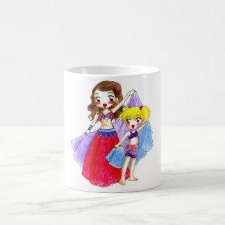 Belly dance - Alicia y Fatima Coffee Mug