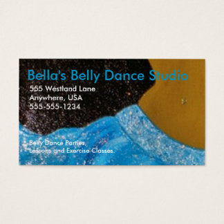 Belly Dance Business Card