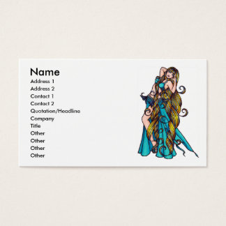 Belly Dance Business Cards