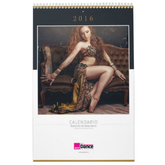 Belly dance calendar 2016