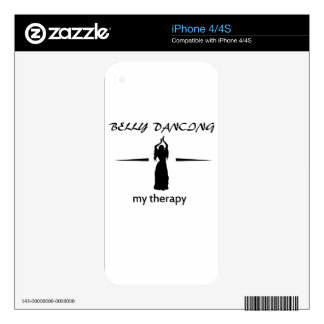 Belly Dance designs Skin For The iPhone 4S