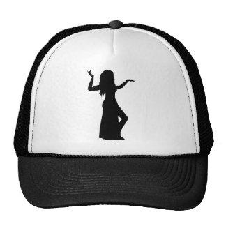 Belly dance girl trucker hat
