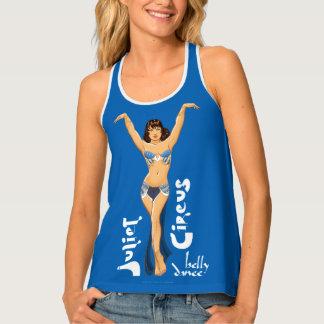 Belly Dance Juliet Circus Blue Classic Tank Top