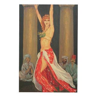 Belly Dancer 1993 Wood Wall Art
