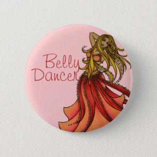 Belly Dancer art Button