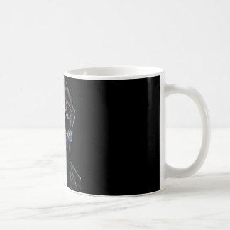 belly dancer black mug