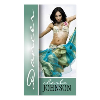 BELLY DANCER BUSINESS CARD profilecard