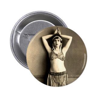 Belly Dancer Button