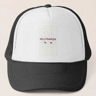Belly dancer eyes trucker hat