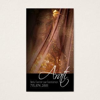 Belly Dancer I, Bollywood, Hindi Fashion Business Card