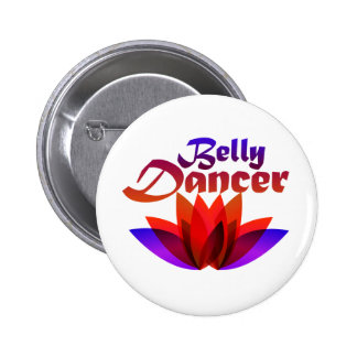 Belly Dancer Lotus Button