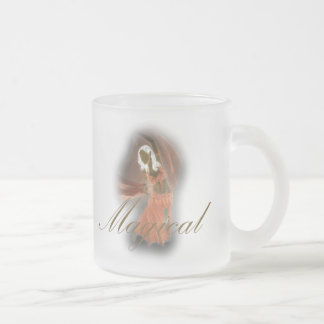 Belly Dancer - Magical Frosted Glass Coffee Mug