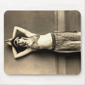 Belly Dancer Mouse Pad