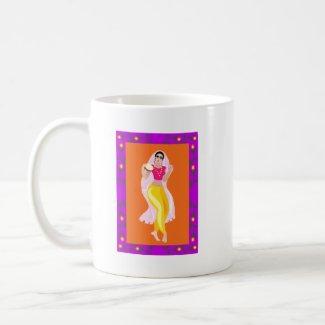 Belly Dancer mug