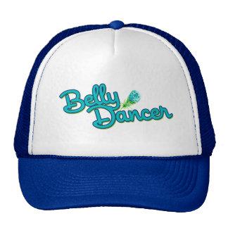 Belly dancer peacock colors trucker hat