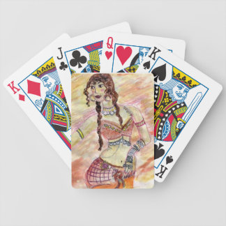 Belly Dancer Playing Cards