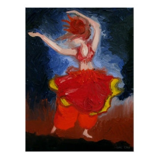 Belly Dancer Posters