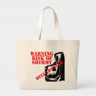 Belly Dancer - Risk of Shimmy - Large Tote
