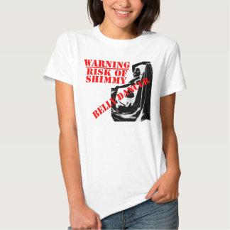 Belly Dancer - Risk of Shimmy - Light T Shirt
