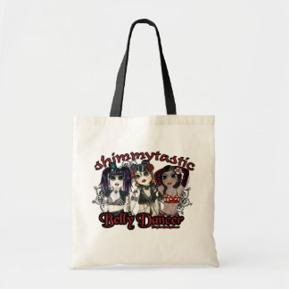 Belly Dancer Trio Character Art Budget Tote Bag