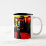 Belly Dancer with Fire Coffee Mugs