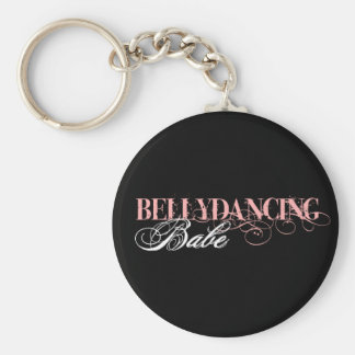 Belly Dancing Babe Keychain