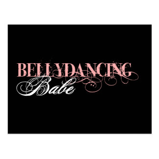 Belly Dancing Babe Postcard