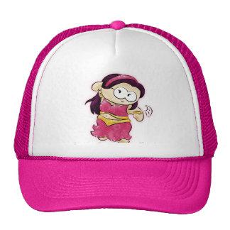 belly dancing geek cap!!! trucker hat