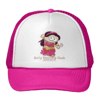 belly dancing geek cap V2!! Trucker Hat