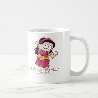 belly dancing geek mug!!! classic white coffee mug