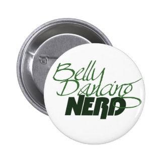 Belly Dancing Nerd Button