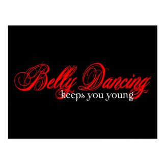 Belly Dancing Rocks Postcard