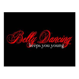 Belly Dancing Rocks Postcard